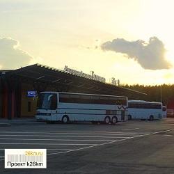 С автовокзала «Саларьево» в Геленджик