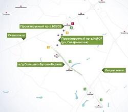 В ТиНАО временно изменится схема движения транспорта
