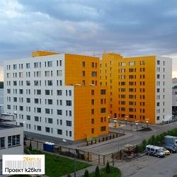 В Московском завершается строительство 9-й этажной гостиницы