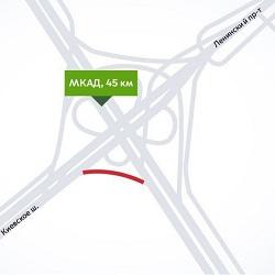Ремонт эстакады на пересечении МКАД и Киевского шоссе