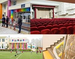 Состоялось торжественное открытие нового корпуса школы №2120