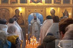 Архиерейское богослужение в храме свт. Тихона