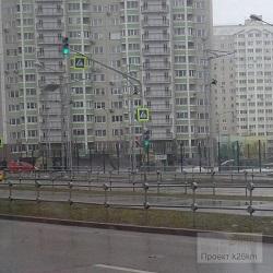 На улице Никитина заработал светофор
