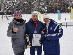Результат лыжных гонок
