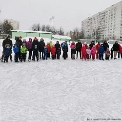В Московском прошли «Зимние забавы»