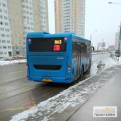Работа транспорта в Рождественскую ночь в Московском