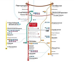 Запуск автобусов КМ на время закрытия метро