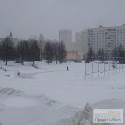 Ледовый каток в Московском по-прежнему работает