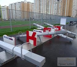 Московский украшают ко Дню города