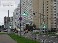 Ещё два перекрёстка в Московском стали регулированными